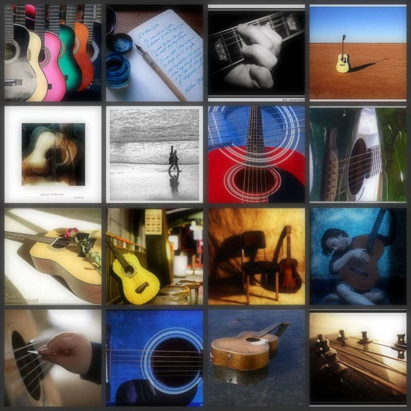 Guitarcollage